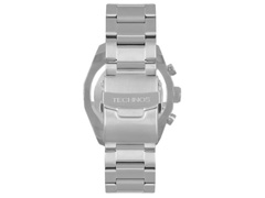 Relógio Technos Masculino Cronógrafo Skymaster Prata OS20HME/1B - 2