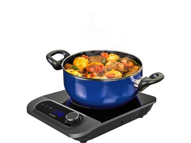 Cooktop por Indução Cadence FOG601 Perfect Cuisine – Preto\Prata - 110v - 14