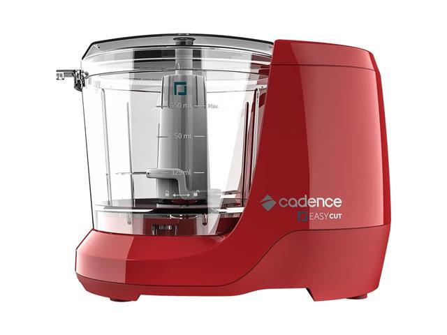Miniprocessador de Alimentos Cadence Easy Cut Vermelho 100W 220V