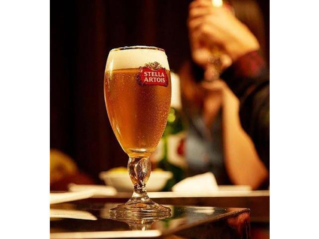 Jogo de Taças de Vidro para Cerveja Stella Artois 6 Unidades de 250ML - 2