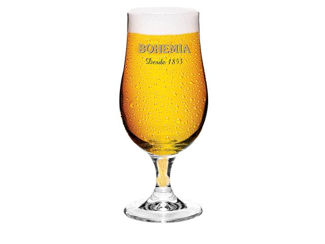 Taça de Vidro para Cerveja Bohemia Pilsen 380ML
