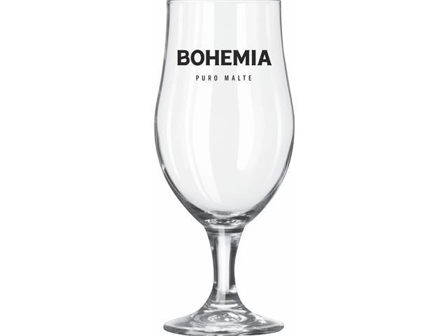Taça de Vidro para Cerveja Bohemia Puro Malte 380ML - 2