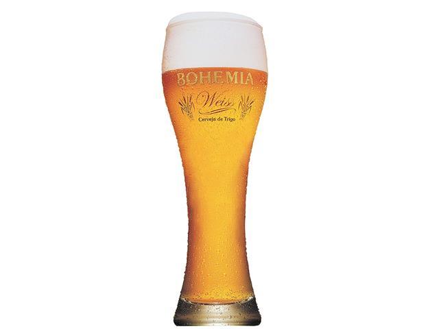 Copo de Vidro para Cerveja Bohemia Weiss 670ML