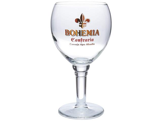 Taça de Vidro para Cerveja Bohemia Confraria 430ML - 1