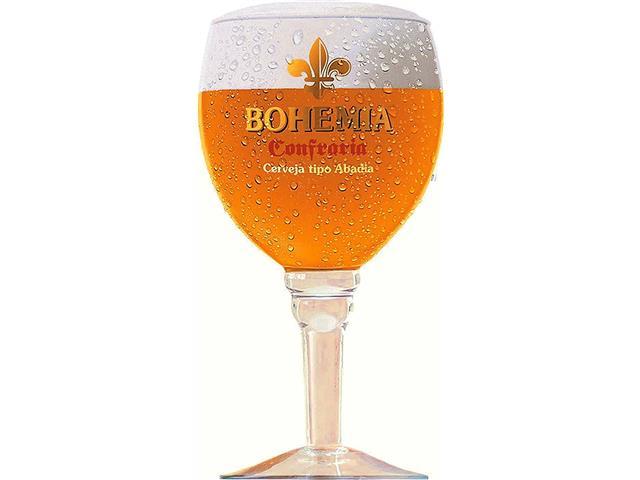Taça de Vidro para Cerveja Bohemia Confraria 430ML