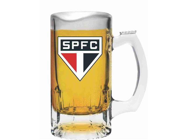 Caneca de Vidro para Cerveja São Paulo 375ML