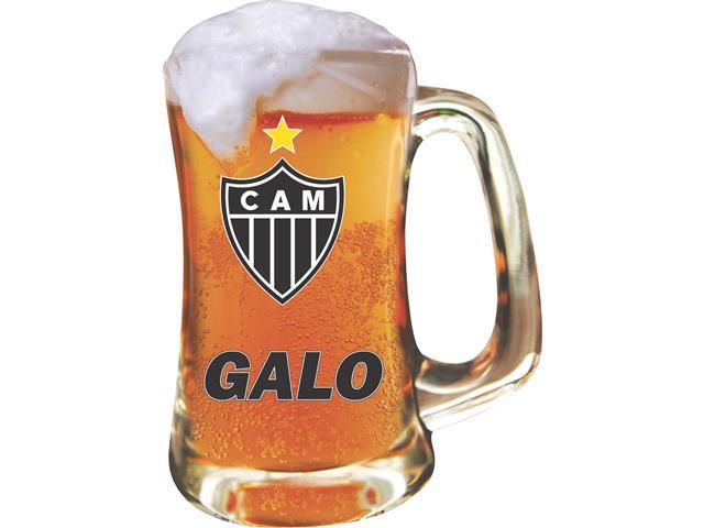 Caneca Scandinavia de Vidro para Cerveja Atlético 355ML