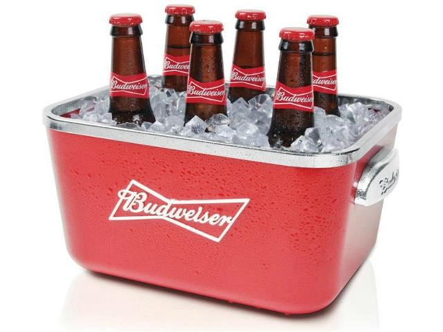 Balde para Gelo Budweiser Retangular