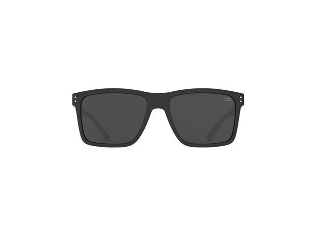 Óculos de Sol Mormaii Cairo Preto Fosco Madeira Lente Cinza Polarizada - 1