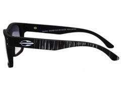 Óculos de Sol Mormaii Mumbai Preto Fosco Lente Cinza Degradê - 1