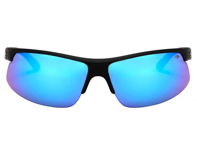 Óculos de Sol Mormaii Thunder II Preto Fosco Lente Azul Espelhada - 2
