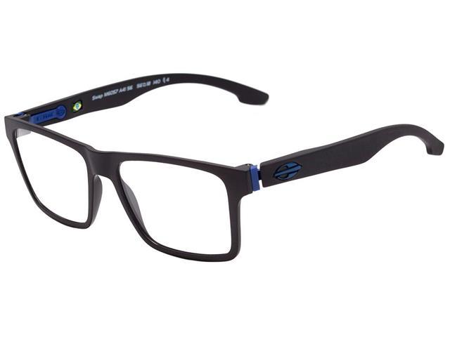 Armação Óculos de Grau Mormaii Swap Preto Fosco 2 Clips On Polarizados - 1