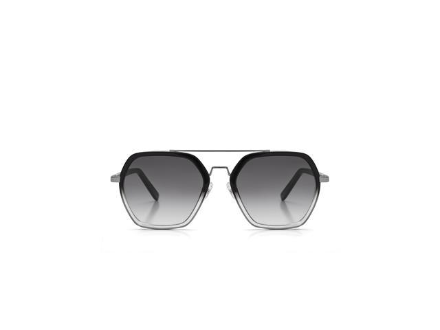 Óculos de Sol Colcci Preto Brilho Gun Lente Cinza Degradê - 2