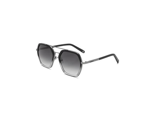 Óculos de Sol Colcci Preto Brilho Gun Lente Cinza Degradê