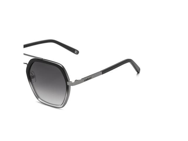 Óculos de Sol Colcci Preto Brilho Gun Lente Cinza Degradê - 1