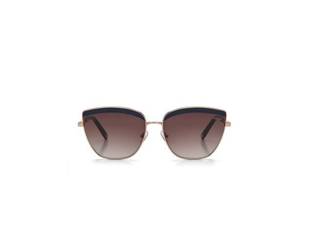 Óculos de Sol Colcci Brilho Dourado Lente Marrom Degradê - 2
