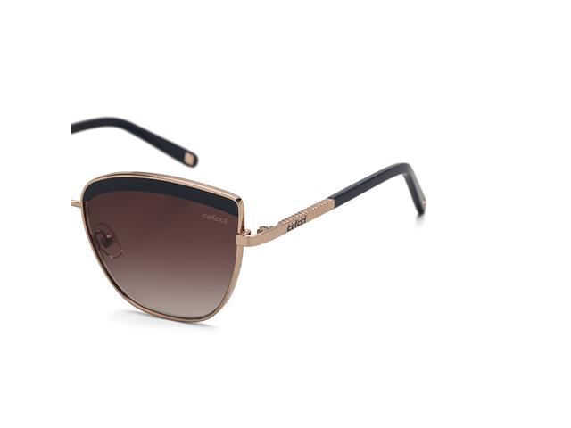 Óculos de Sol Colcci Brilho Dourado Lente Marrom Degradê - 1