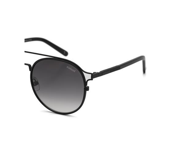 Óculos de Sol Colcci Preto Fosco Brilho Lente Cinza Degradê - 1