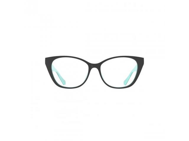 Armação Óculos de Grau Colcci Bandy 2 Preto Azul Claro + Clip Solar - 1