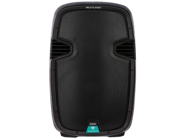 Caixa de Som Bluetooth Multilaser Portátil Amplificadora 300W Bivolt - 1