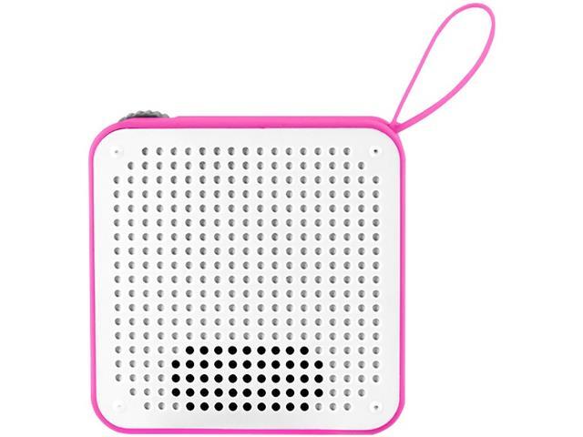 Caixa de Som Bluetooth Multilaser Speaker Resistente à Água Rosa 5W - 4