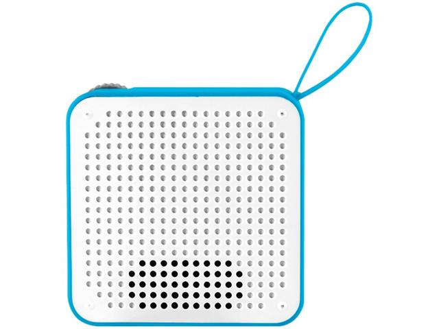 Caixa de Som Bluetooth Multilaser Speaker Resistente à Água Azul 5W - 4