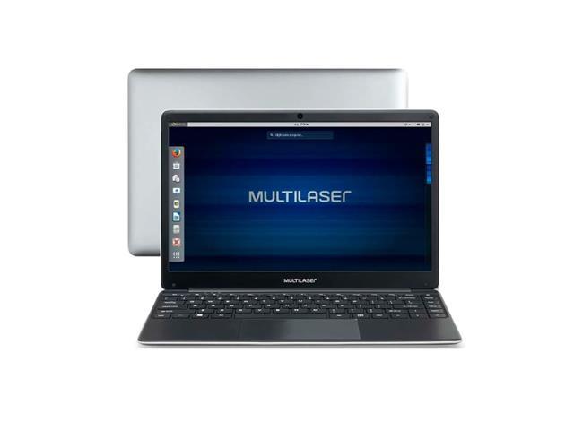 "Notebook Multilaser Legacy Book 4GB 64GB HD Linux Cinza 14"""