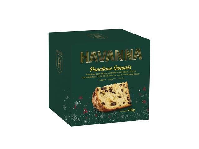 Combo Panettone Havanna Genovês com Frutas 2 Unidades 750g - 1