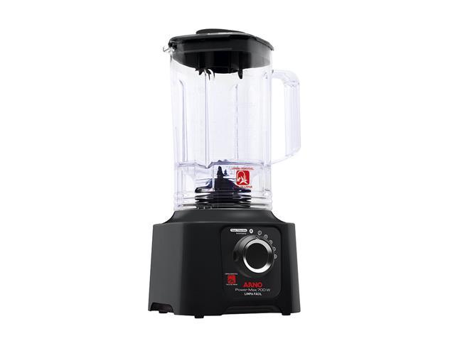 Liquidificador Arno Power Max Limpa Fácil Preto 700W