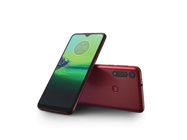 "Smartphone Motorola Moto G8 Play 32GB Dual 6.2""4G Câm 13+8+2MP Magenta - 2"