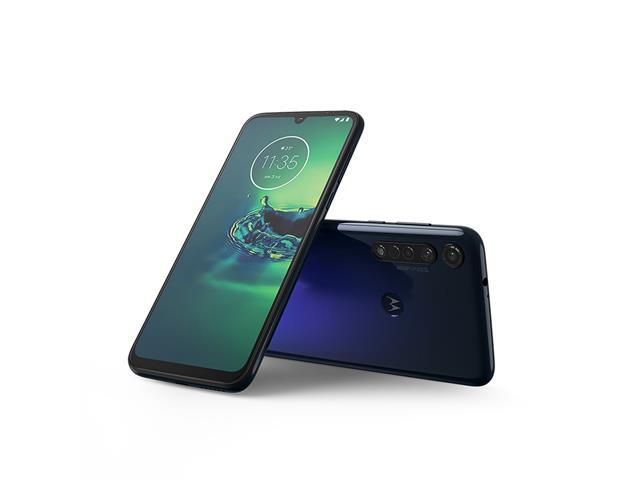 "Smartphone Motorola Moto G8 Plus 64GB 6.3""4G Câm 48+16+5MP Azul Safira - 1"
