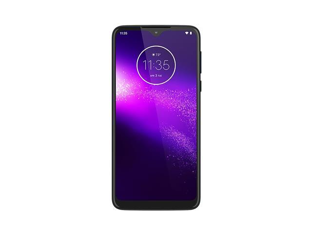 """Smartphone Motorola One Macro 64GB 6.2""""4G Câm 13+2+2MP Azul Espacial - 3"""