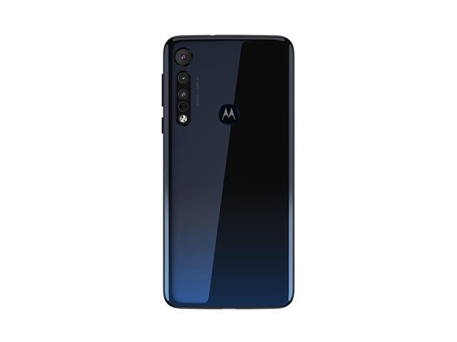 """Smartphone Motorola One Macro 64GB 6.2""""4G Câm 13+2+2MP Azul Espacial - 4"""