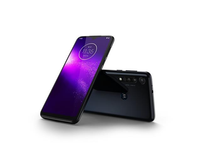 """Smartphone Motorola One Macro 64GB 6.2""""4G Câm 13+2+2MP Azul Espacial - 1"""