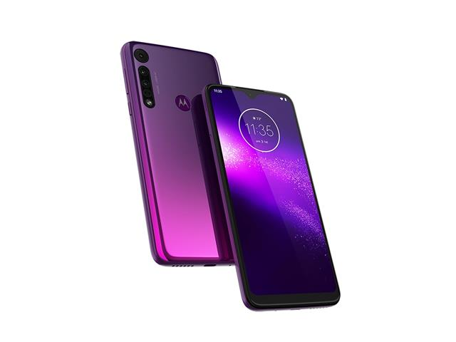 "Smartphone Motorola One Macro 64GB 6.2""4G Câm 13+2+2MP Ultravioleta - 1"
