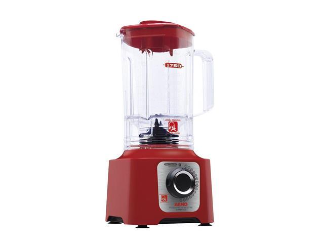 Liquidificador Arno Power Max Limpa Fácil Vermelho 1400W
