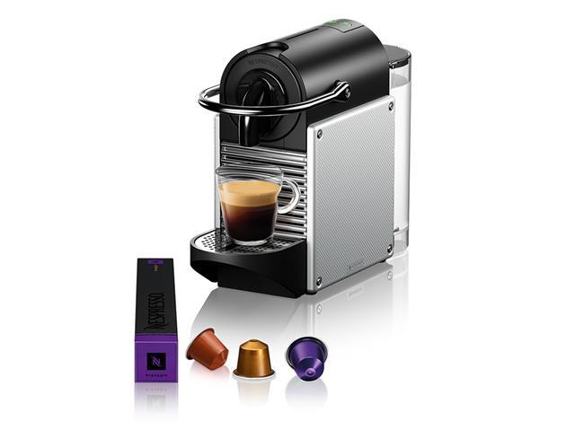 Cafeteira Nespresso Automática Pixie D61 Kit Boas Vindas Alumínio 110V - 2