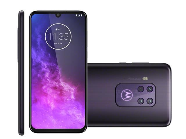 "Smartphone Motorola One Zoom 128GB 6.4""4G Qu4d Câm 48+16+8+5MP Violeta"