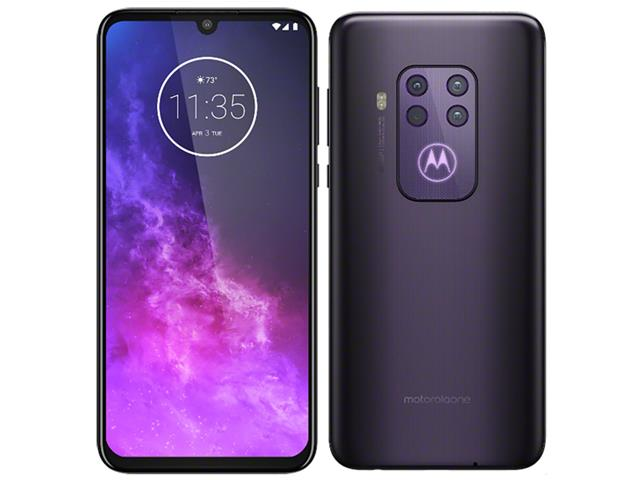 "Smartphone Motorola One Zoom 128GB 6.4""4G Qu4d Câm 48+16+8+5MP Violeta - 1"