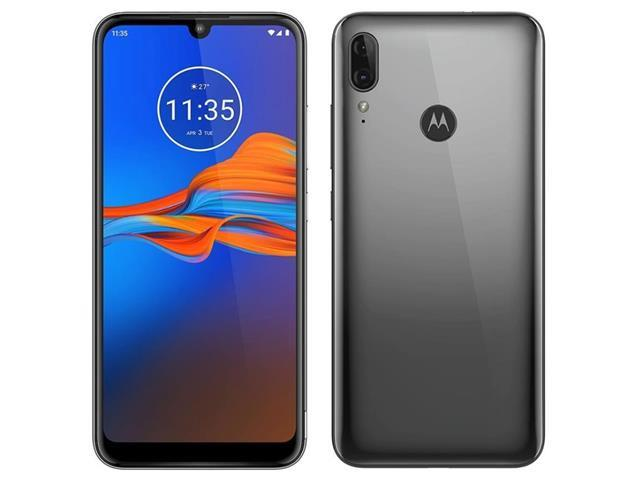 "Smartphone Motorola Moto E6 Plus 64GB 6.1""4G Câm 13+2MP Cinza Metálico - 1"