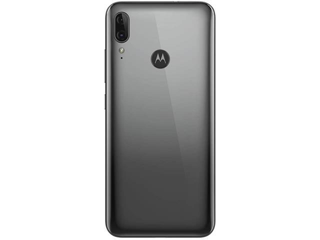 "Smartphone Motorola Moto E6 Plus 64GB 6.1""4G Câm 13+2MP Cinza Metálico - 3"