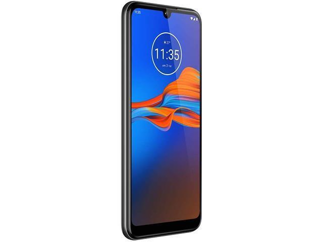 "Smartphone Motorola Moto E6 Plus 64GB 6.1""4G Câm 13+2MP Cinza Metálico - 4"