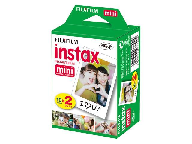Filme Instantâneo Fujifilm Instax Borda Branca com 20 Unidades