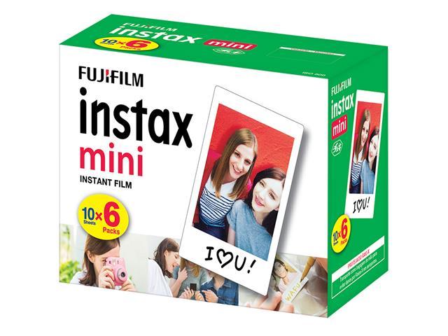 Filme Instantâneo Fujifilm Instax Borda Branca com 60 Unidades