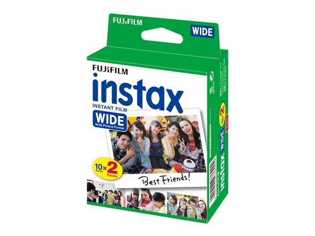Filme Instantâneo Fujifilm Instax Wide com 20 fotos