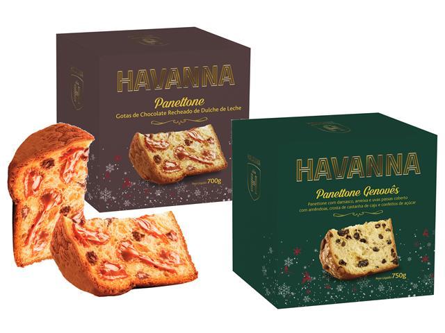 Combo Panettones Havanna Genovês + Chocolate e Doce de Leite