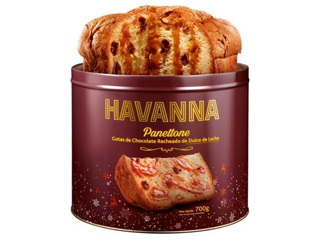 Combo Panettones Havanna Genovês + Lata Choco Doce de leite - 4