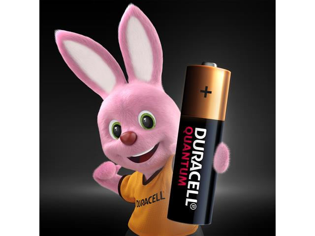Pilha Alcalina AA Pequena Duracell Quantum Leve 4 Pague 3 Unidades - 2