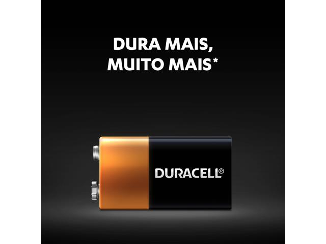 Bateria Duracell 9V - 3