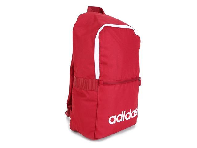 Mochila Adidas Diária Linear Classic Vermelha